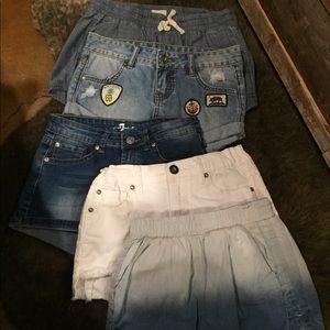 Bundle 5 pair of shorts